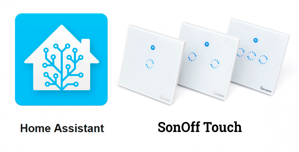 Integrando un Sonoff Touch en Home Assistant