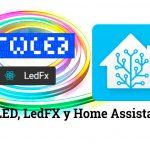 LED-Streifen eine andere Dimension mit WLED und LedFx Trage, NodeMCU y Start-Assistent