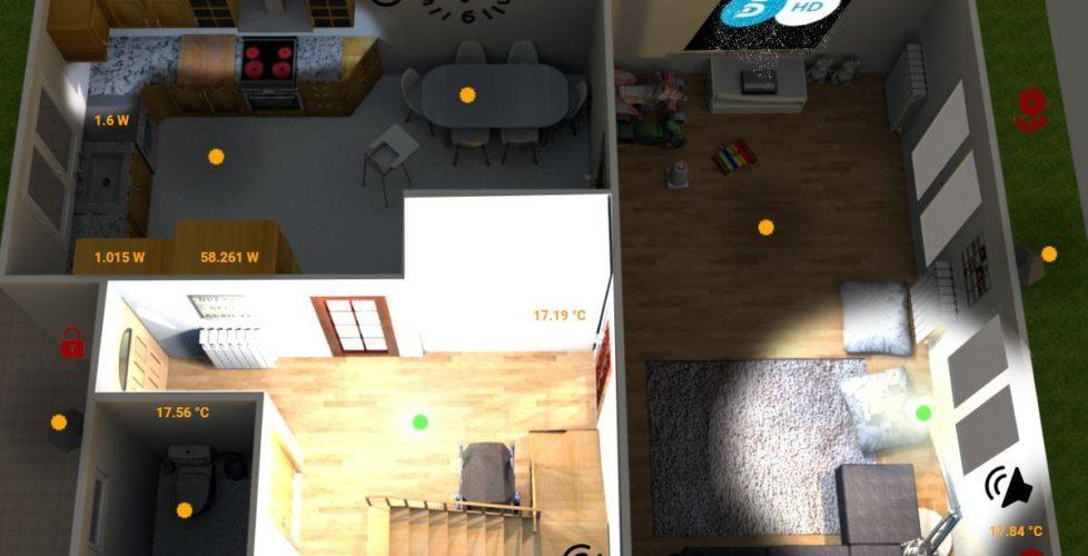 Creando nuestro Floorplan o Plano de casa animado en Home Assistant
