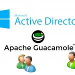 Autenticación de Apache Guacamole contra Directorio Activo